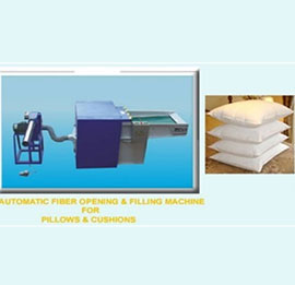 Micro Fibre Opening & Filling Machine
